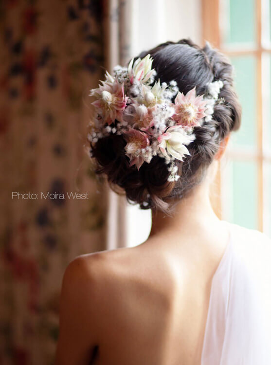 Photo from back bride